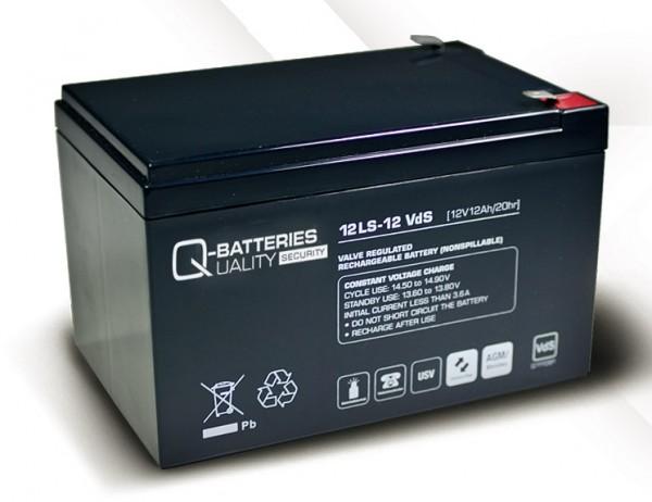 Ersatzakku für APC Back-UPS Pro BP650IPNP RBC4 RBC 4 / Markenakku mit VdS